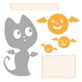 Halloween-Grafiken Stockfoto
