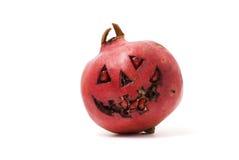 Halloween-Granatapfel Lizenzfreie Stockbilder