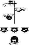 Halloween graphic Stock Photography