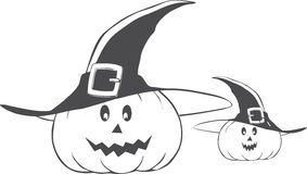 Halloween. Graphic illustration art Royalty Free Illustration