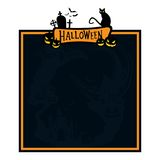 Halloween graphic resource background. Halloween pumpkin concept seasonal  holiday Royalty Free Stock Images