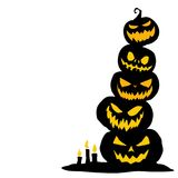 Halloween graphic resource background vector illustration