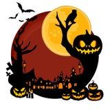 Halloween graphic resource background. Halloween pumpkin concept seasonal vector holiday Royalty Free Stock Photo