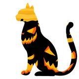 Halloween graphic resource background. Halloween pumpkin concept seasonal vector holiday Royalty Free Stock Photography