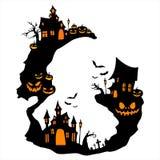 Halloween graphic resource background. Halloween pumpkin concept seasonal vector holiday Royalty Free Stock Image