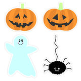 Halloween graphics collection Royalty Free Stock Image