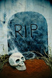 Halloween grave Royalty Free Stock Photography