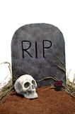 Halloween grave Royalty Free Stock Image