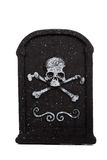 Halloween grave stone on a white background Stock Photography