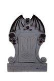 Halloween grave stone on a white background Royalty Free Stock Photo