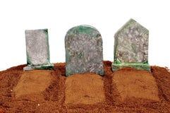 Halloween graves Royalty Free Stock Photo
