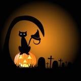 Halloween Graveyard Stock Photos
