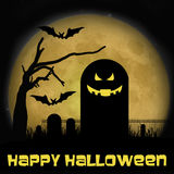 Halloween Graveyard Royalty Free Stock Images