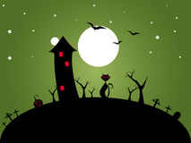 Halloween green Royalty Free Stock Photos