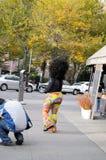 Halloween, Greenwich Village, New York Stockfotografie