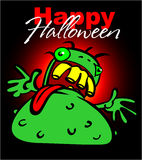Halloween greeting card Royalty Free Stock Photo