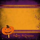 Halloween greeting card. Royalty Free Stock Photo