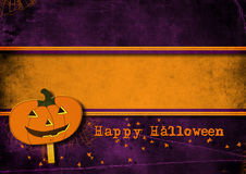 Halloween greeting card. Stock Image