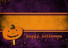 Halloween greeting card. Stock Image