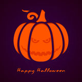 Halloween greeting card eps10 Royalty Free Stock Photography