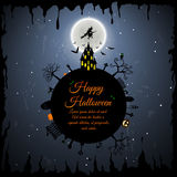 Halloween Greeting Card Stock Photography