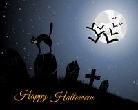 Halloween Greeting Card Stock Photography