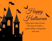 Halloween Greeting Card Stock Photos