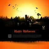 Halloween greeting card Royalty Free Stock Photo