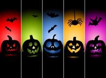 Halloween Greeting Card Illustration Royalty Free Stock Photos