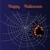 Halloween greeting card Royalty Free Stock Photos