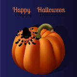 Halloween greeting card Stock Photo