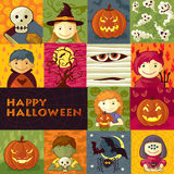 Halloween Greeting Card Stock Photos