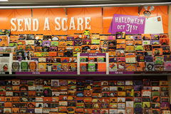 Halloween Greeting Cards Stock Images
