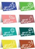 Halloween greeting design Stock Photos