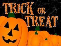Halloween greeting illlustration stock images
