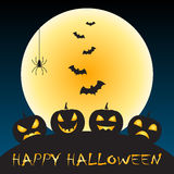 Halloween greeting Royalty Free Stock Photo