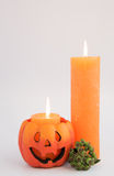 Halloween Greetings Card Stock Photo