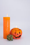 Halloween Greetings Card Stock Photos