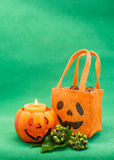 Halloween Greetings Card Royalty Free Stock Photo