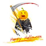Halloween Grim Royalty Free Stock Photography