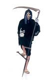 Halloween, Grim Reaper. Halloween, fun and creepy, grim reaper on white background Stock Photography