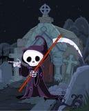 Halloween Grim Reaper stock illustration