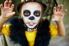 Halloween grimace Royalty Free Stock Photography
