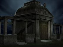 halloween grobowiec Obrazy Royalty Free