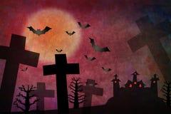 halloween grodowa czerwień ilustracji