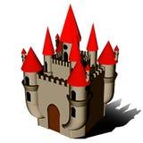 halloween grodowy icone Zdjęcia Royalty Free