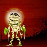 Halloween-Gruß Stockbilder