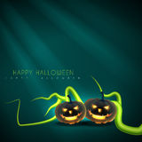Halloween-Grußentwurf Lizenzfreies Stockfoto