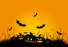 Halloween grunge background Stock Photo