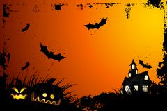 Halloween grunge background Stock Photos